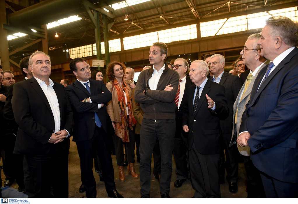 Κ. Μητσοτάκης: Όταν ανοίγουν κλειστά εργοστάσια είναι σημάδι επαναβιομηχάνισης της χώρας
