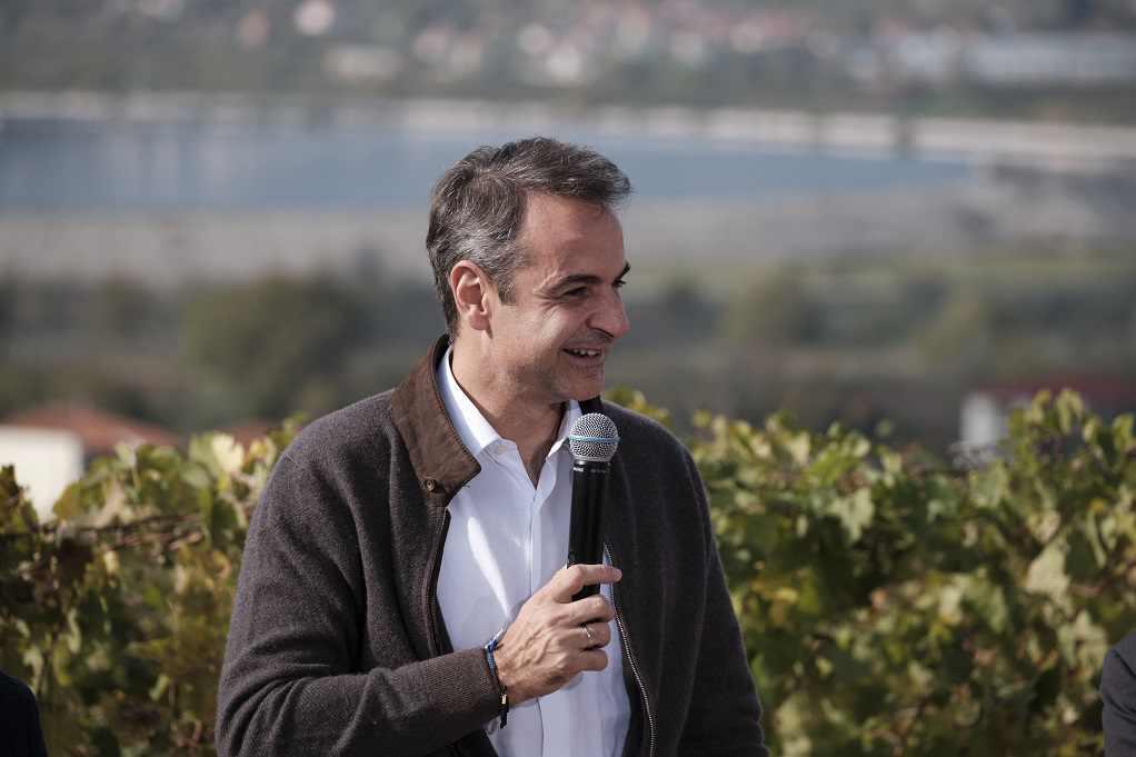 Κ. Μητσοτάκης: Θα επιστραφεί στους οινοπαραγωγούς, ο προπληρωμένος ειδικός φόρος κατανάλωσης