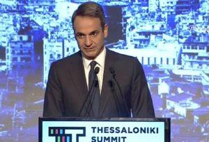 Ο Κ. Μητσοτάκης στο Thessaloniki Summit (VIDEO)