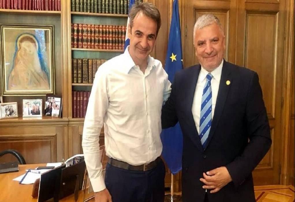 Μητσοτάκης-Πατούλης: Κοινά βήματα για εθνική ανάπτυξη