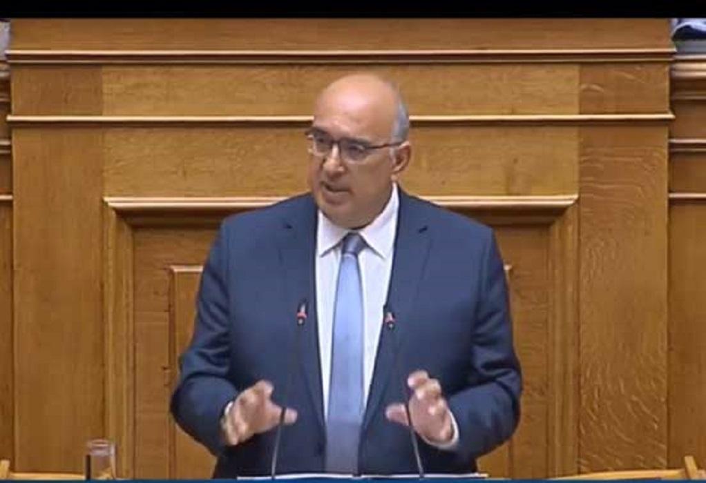 Παπαδόπουλος: Σήμερα πέφτουν οι μάσκες για το εργασιακό (ΗΧΗΤΙΚΟ)