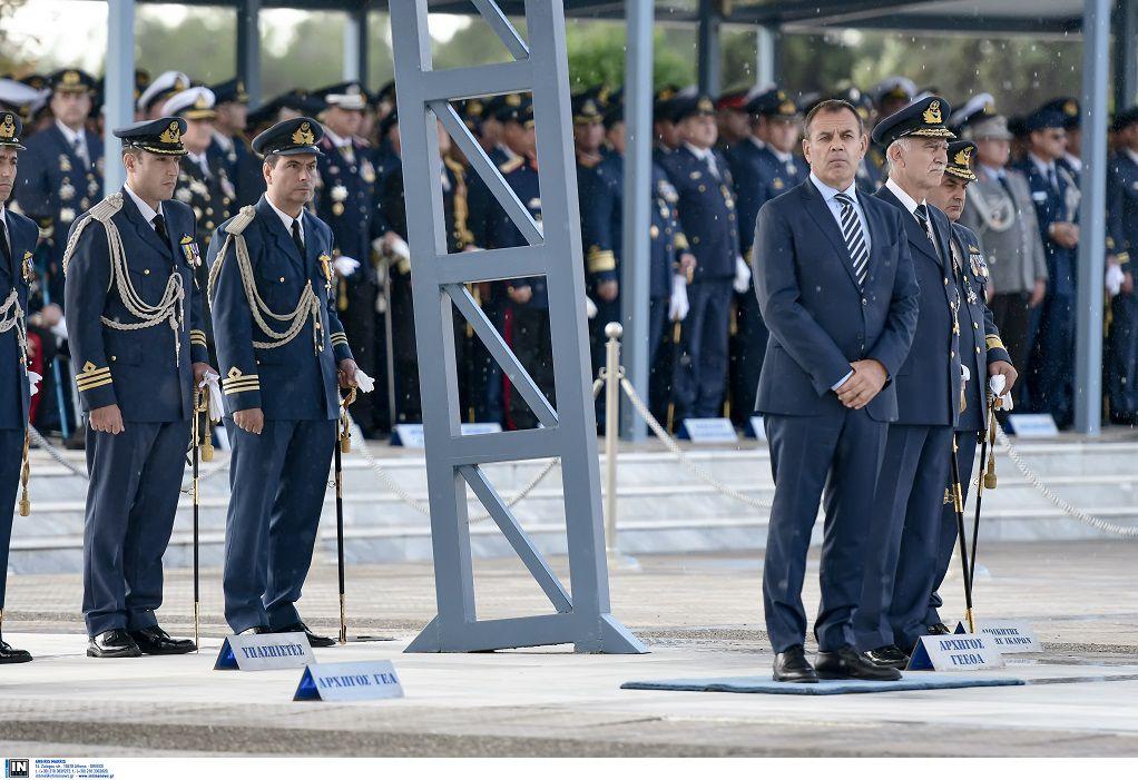 Εορτασμός του προστάτη της Πολεμικής Αεροπορίας, Αρχαγγέλου Μιχαήλ παρουσία Ν. Παναγιωτόπουλου