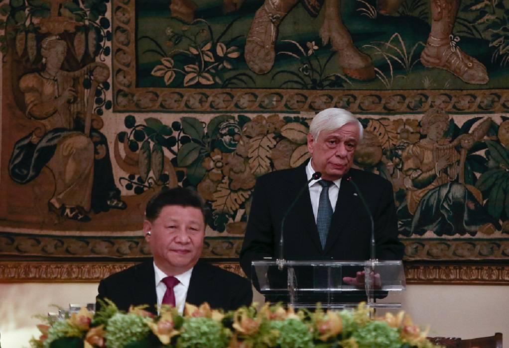 Στο Μουσείο της Ακρόπολης ο Κινέζος Πρόεδρος