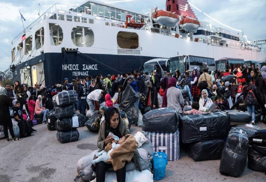 Στον Πειραιά μετανάστες και πρόσφυγες από τα νησιά