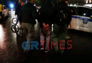 Θεσσαλονίκη: 18 προσαγωγές & μία σύλληψη ανηλίκου για το Πολυτεχνείο