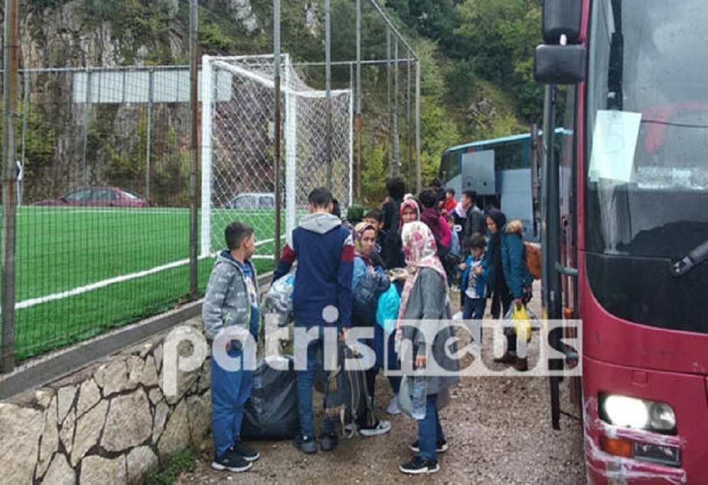 Ηλεία: Έφτασαν οι πρώτοι πρόσφυγες που θα φιλοξενηθούν σε μοναστήρια (ΦΩΤΟ)