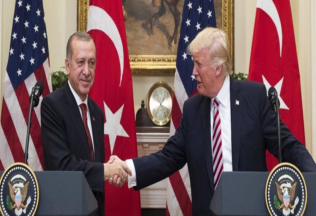 Τραμπ: Ζήτησε από τον Ερντογάν να τα βρει με την Ελλάδα!