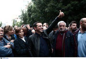 Α. Τσιπρας για Πολυτεχνείο: Η πρώτη μεγάλη, μαζική και ειρηνική αντικυβερνητική διαδήλωση