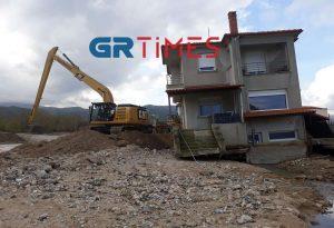 Χαλκιδική: Εργασίες για την αποκατάσταση των ζημιών (ΦΩΤΟ-VIDEO)