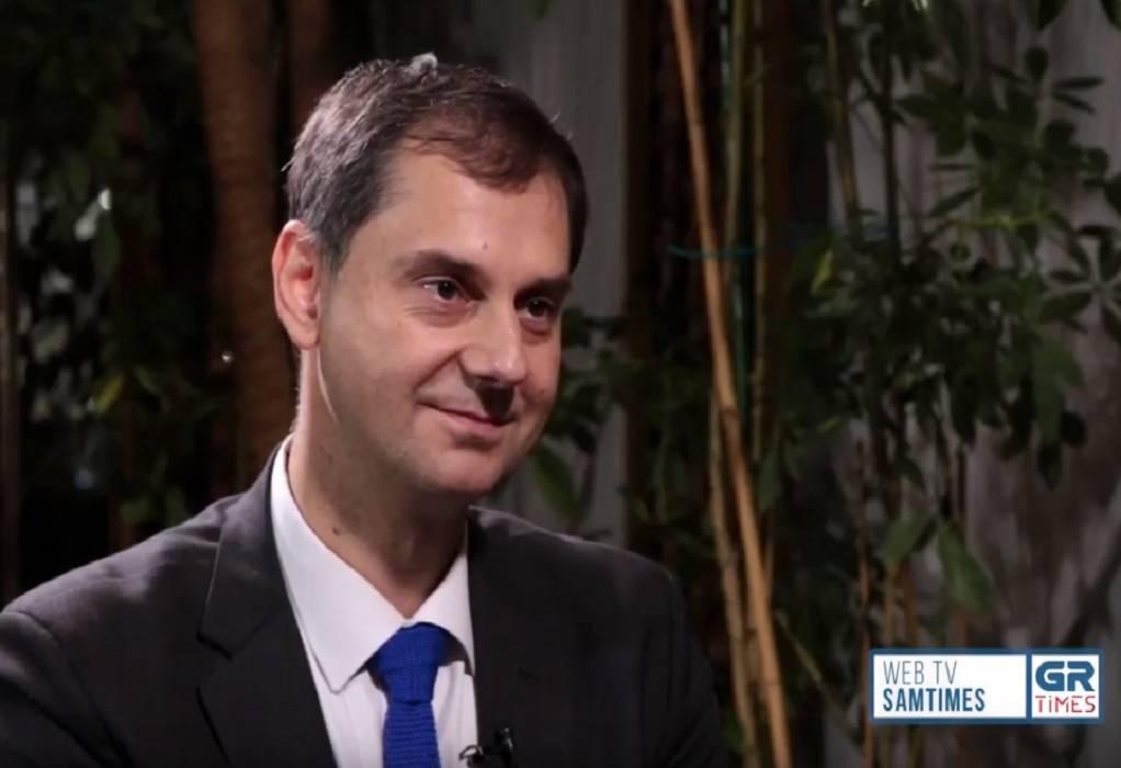 Χ.Θεοχάρης στο GrTimes: Η Θεσσαλονίκη είναι η πόλη της καρδιάς μου (VIDEO)