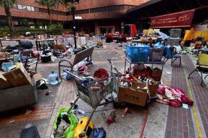 Χονγκ Κονγκ: Έληξε η πολιορκία της Πολυτεχνικής Σχολής