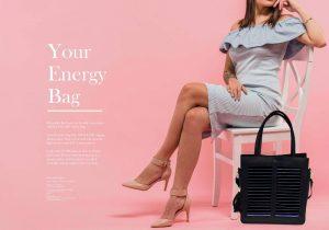 H έξυπνη energy bag by OET, δένει τεχνολογία με μόδα