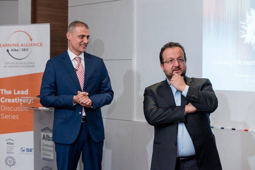 ALBA & ΣΕΒ: «Καθοδηγώντας τον ψηφιακό μετασχηματισμό»