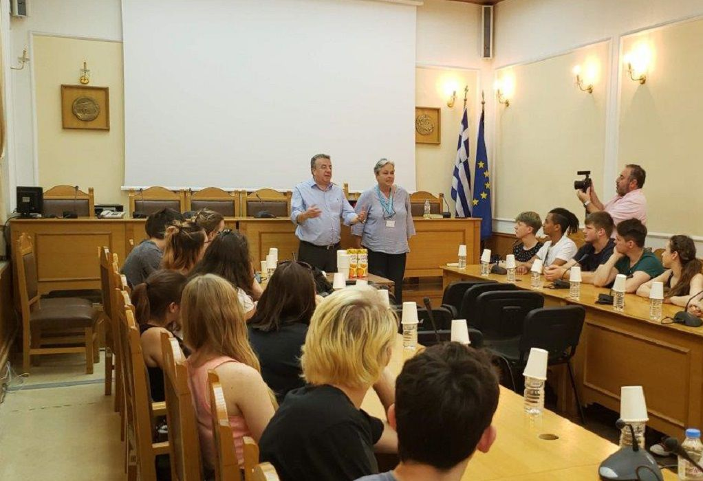 ERASMUS: Μαθητές από Πολωνία και Γερμανία στη Κρήτη