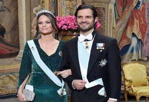 Πριγκίπισσα της Σουηδία: Με animal print σε δεξίωση!