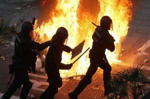 Βαρκελώνη: Νύχτα διαδηλώσεων στο Μπαρτσελόνα-Ρεάλ