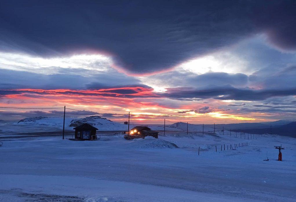 Καϊμάκτσαλαν: Με προβλήματα η λειτουργία του χιονοδρομικού κέντρου