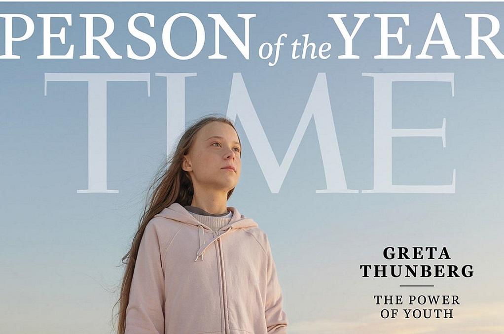 Η Γκρέτα Τούνμπεργκ είναι το Πρόσωπο της Χρονιάς 2019