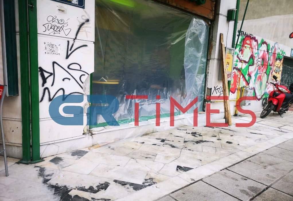 Θεσσαλονικη: Τζιπ καρφώθηκε σε κατάστημα!