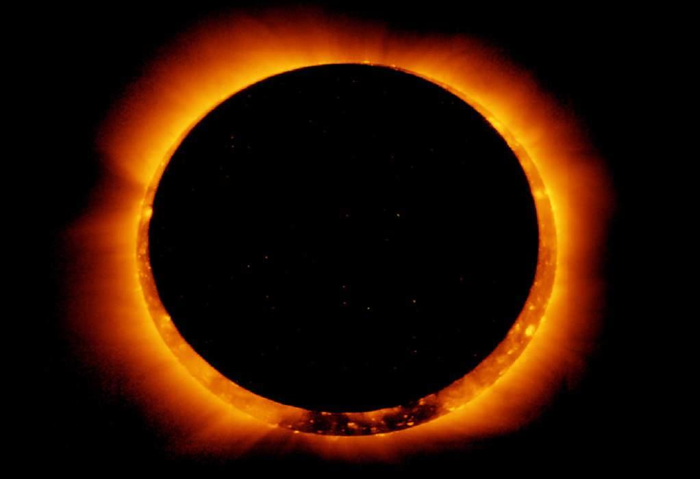 Η εντυπωσιακή έκλειψη Ηλίου σε βίντεο
