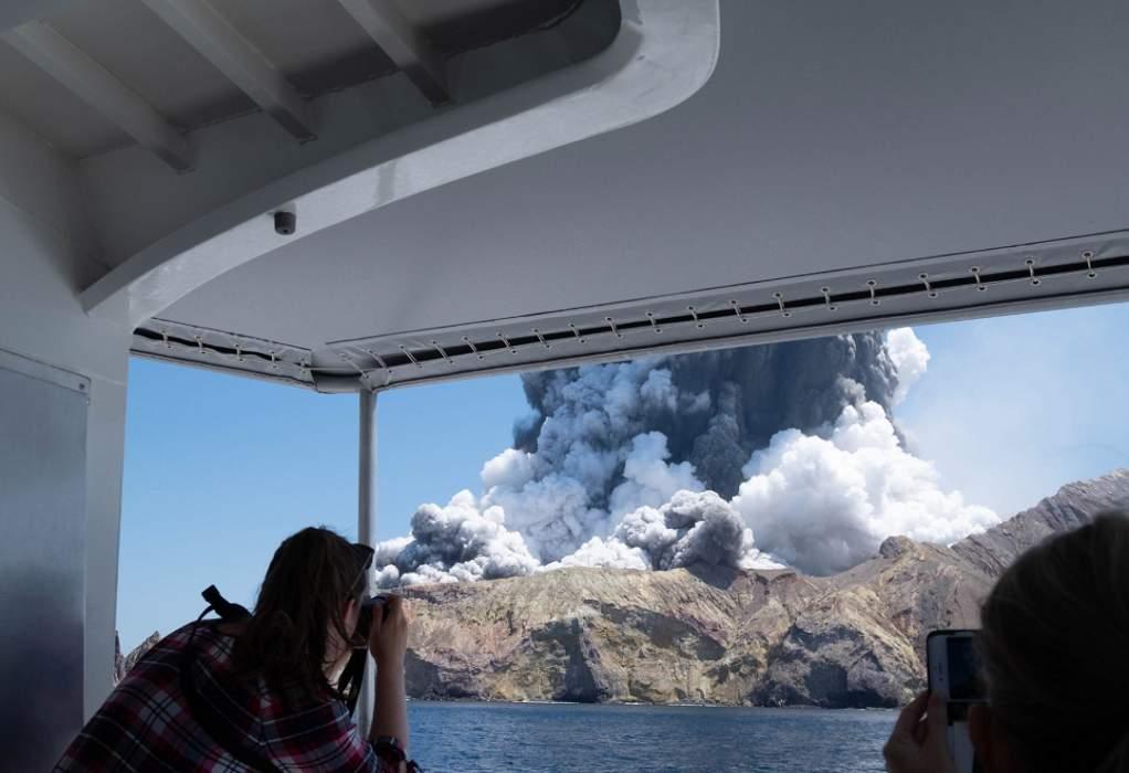 Νέα Ζηλανδία: Πέντε νεκροί από την έκρηξη ηφαιστείου (VIDEO)