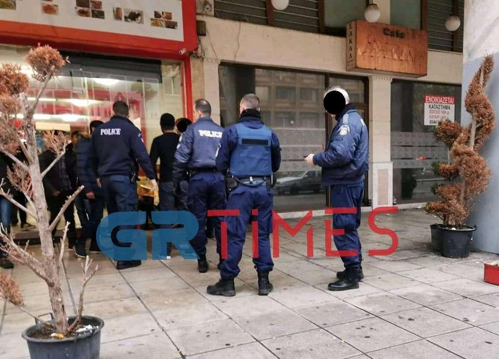 Θεσσαλονίκη: Αιματηρό επεισόδιο μεταξύ αλλοδαπών (ΦΩΤΟ-VIDEO)