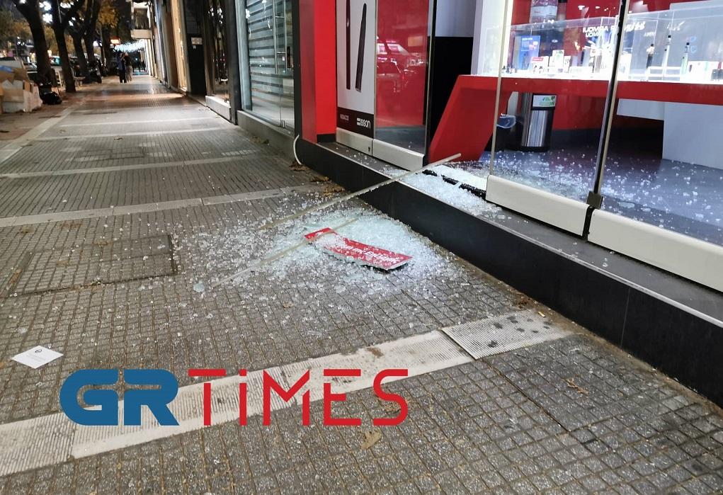 Θεσσαλονίκη: Ανάληψη ευθύνης για τις επιθέσεις σε καταστήματα