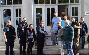 Γιατροί της Περιφέρειας Αττικής στο Νοσοκομείο Τιράνων
