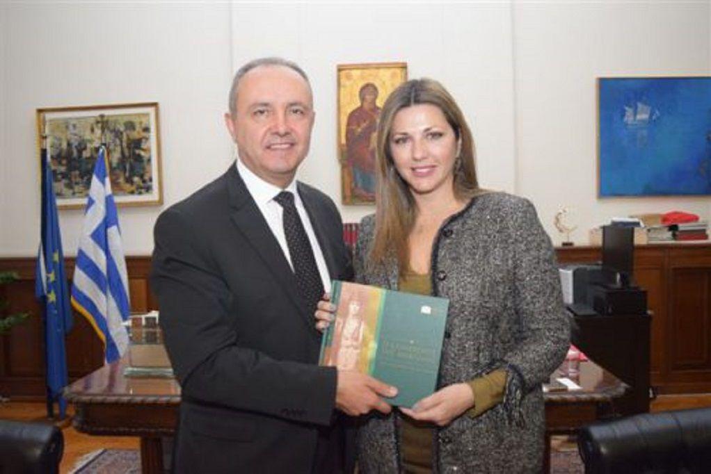 Συνάντηση Θ. Καράογλου – Σ. Ζαχαράκη