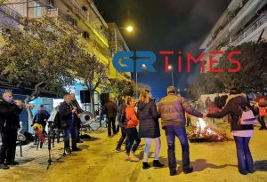 Θεσσαλονίκη: Φωτιά, χορός και φασολάδα στις «Κλαδαριές» (ΦΩΤΟ-VIDEO)