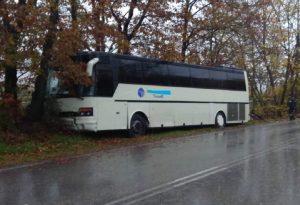 Καλαμπάκα: Τροχαίο με λεωφορείο που μετέφερε μαθητές