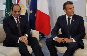 Μακρόν – Σίσι: «Η συμφωνία Τουρκίας – Λιβύης είναι αντίθετη με το δίκαιο της θάλασσας»