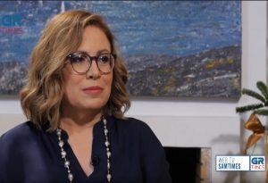 Μαρία Σπυράκη στο GrTimes: Δεν κάνω τη super mommy, μόνο αυτό δεν είμαι (VIDEO)