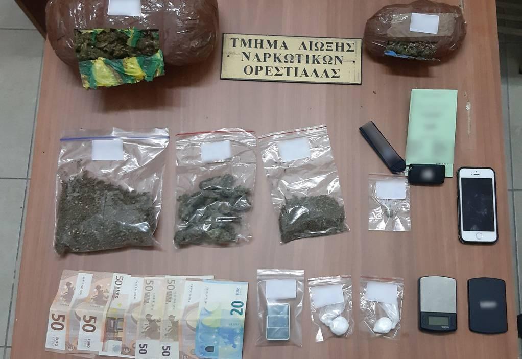 Προσπάθησε να μεταφέρει ναρκωτικά από Βουλγαρία