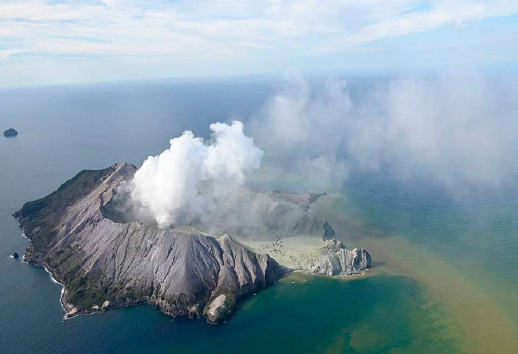 Νέα Ζηλανδία : Έκρηξη ηφαιστείου – 1 νεκρός (VIDEO)