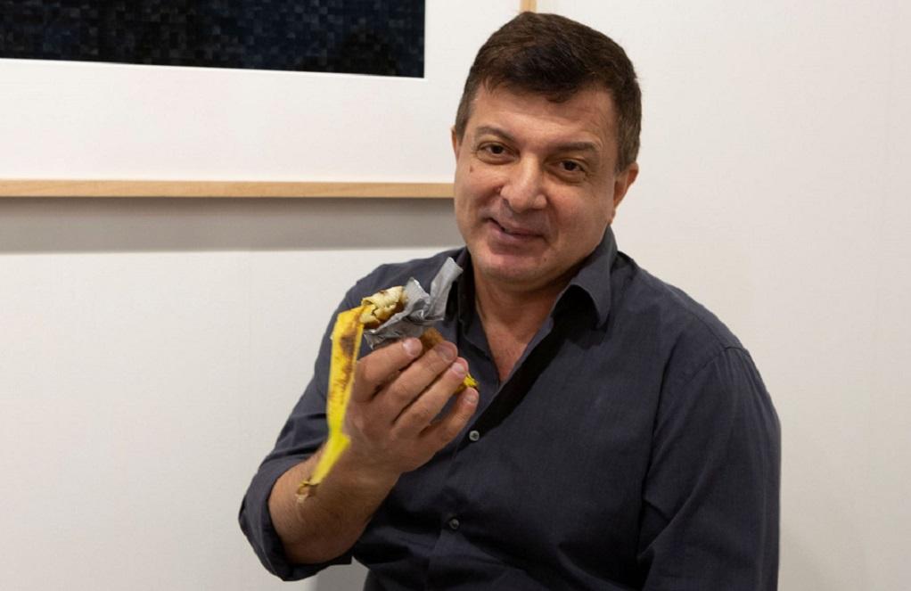 «Γιατί έφαγα την μπανάνα έργο τέχνης του Κατελάν»