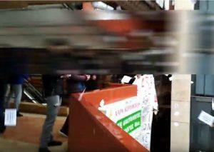 Βίντεο από την παρέμβαση αντιεξουσιαστών στον ΟΑΣΘ