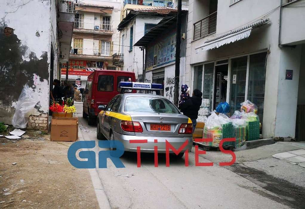Θεσσαλονίκη: Επιχείρηση για πάταξη του παρεμπορίου (ΦΩΤΟ)