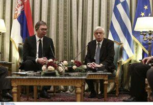 Συνάντηση Π. Παυλόπουλου με Α. Βούτσιτς