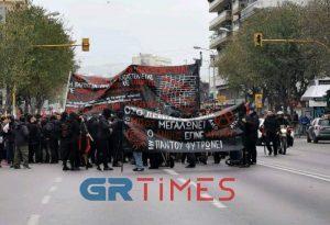 Θεσσαλονίκη: Κινητοποιήσεις για τον Γρηγορόπουλο