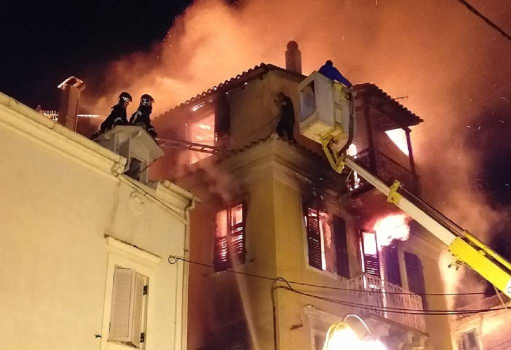 Κέρκυρα: Μάνα και κόρη στο κενό λόγω πυρκαγιάς