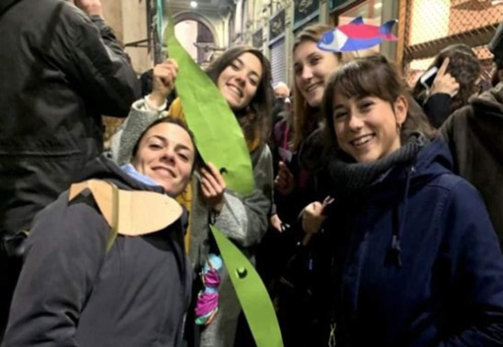 Ρώμη: Νέα πορεία του «κινήματος της σαρδέλας»