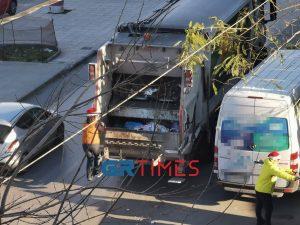 Θεσσαλονίκη: Διπλάσια τα απορρίμματα λόγω γιορτών