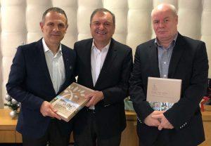 ΟΣΕΘ: Ενημερωτική συνάντηση με τον πρόεδρο της ΠΕΔ Κ. Μακεδονίας