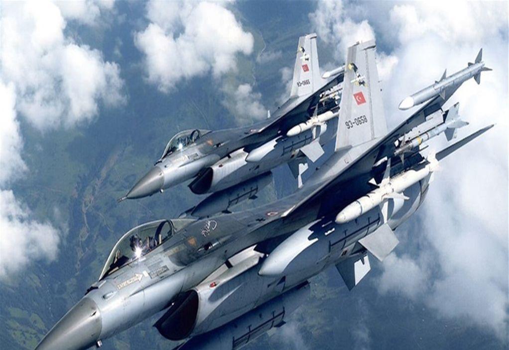 Τουρκικά F-16 πάνω από το Αιγαίο