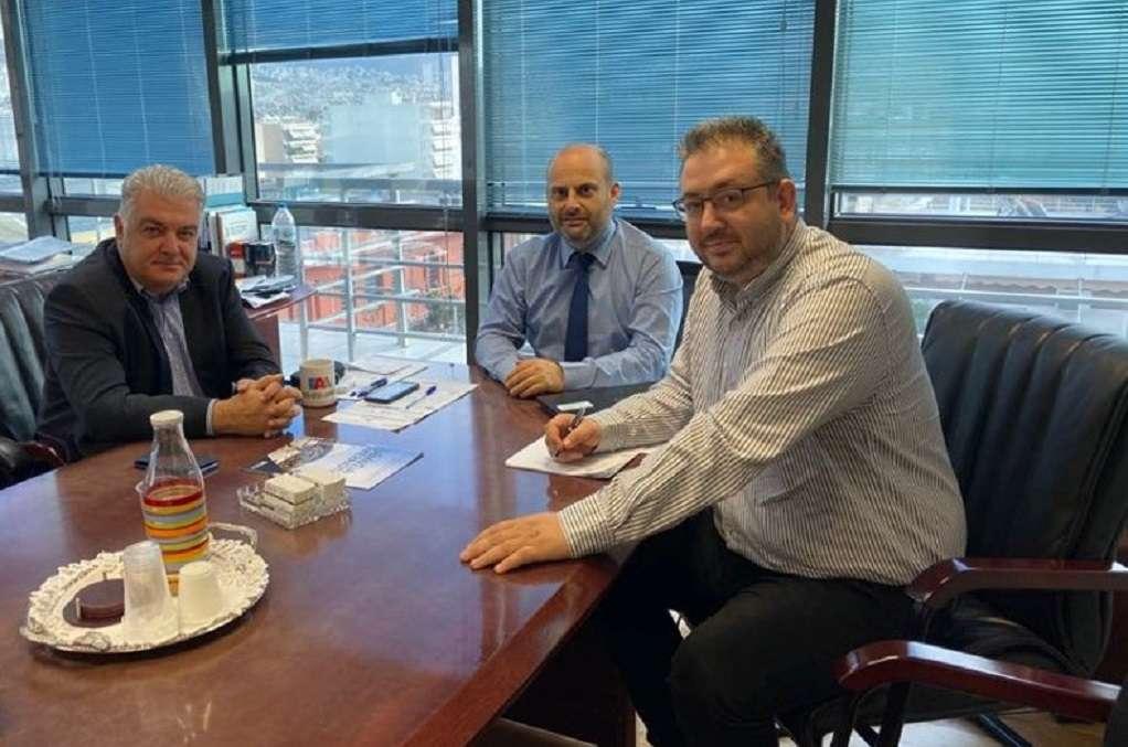 Συνάντηση Π.Τσακίρη με διοικητή της Αρχής Διαφάνειας