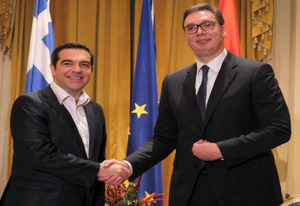 Συνάντηση Τσίπρα – Βούτσιτς: Τι συζήτησαν