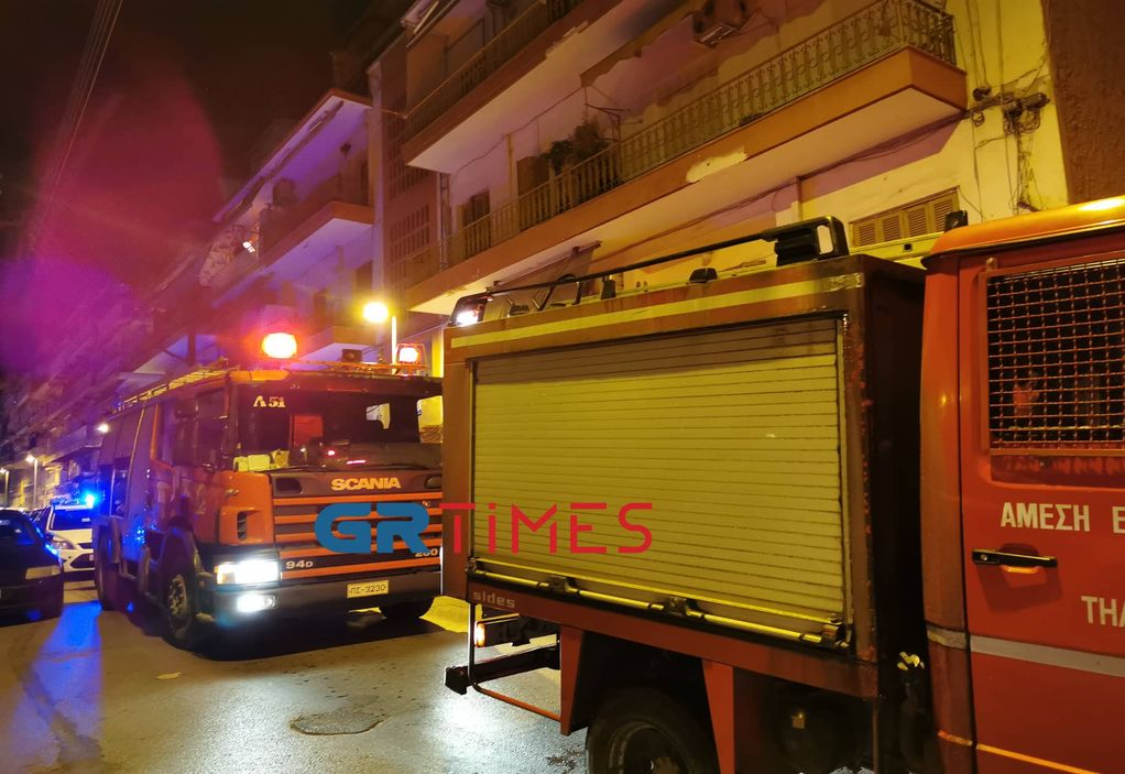 Θεσσαλονίκη: Πυρκαγιά σε ρολόι της ΔΕΗ