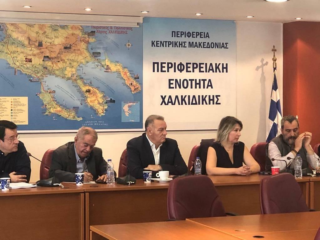Χαλκιδική: Σύσκεψη για την αντιμετώπιση πλημμυρών