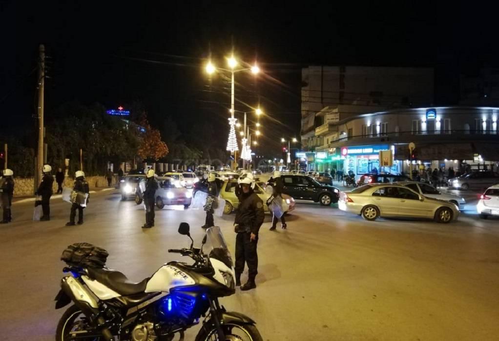 Χανιά: Μικροεπεισόδια μετά την πορεία